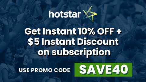 Hotstar Coupon Code USA & Discount Code and Save Your Money