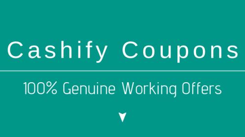 Cashify Coupon Code