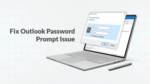 How to Fix Outlook Password Prompt Issue? Outlook keeps prompting for a password